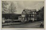 AK Foto Braunlage im Oberharz Hotel und Pension Waldpark 1940