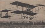 AK Flugzeug Langstreckenflug Mackenthun und Erler in Döberitz 1911 RAR