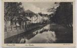 AK Bonn am Rhein Am Weiher mit Häusern 1930