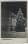 AK Bonn am Rhein Altes Rathaus mit Weihnachtsbaum 1930
