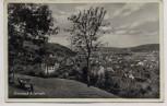 AK Brombach bei Lörrach Ortsansicht mit Bank 1940