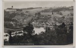 AK Foto Vilshofen an der Donau mit Kloster Schweiklberg 1940