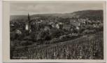 AK Foto Weinort Uhlbach Ortsansicht b. Stuttgart 1940