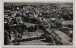 AK Foto Bad Wörishofen von Westen vom Flugzeug aus Luftbild 1940