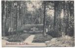 VERKAUFT !!!   AK Brodnica Strasburg Stadtwald m. Heldenfriedhof Westpreußen Kujawien-Pommern Polen 1920 RAR