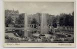 AK Wesel am Rhein Willibrodiplatz mit Brunnen und Häusern 1940