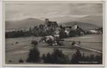 AK Foto Weißenstein bei Regen Ortsansicht mit Ruine 1940