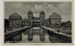 AK Minden in Westfalen Schleuse am Mittellandkanal 1940