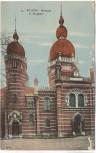 AK Bochum Synagoge Judaika 1920