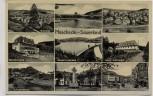 AK Mehrbild Meschede Sauerland Krieger-Ehrenmal Blindenheim Haus Dortmund ... 1940