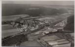 VERKAUFT !!!   AK Foto Wehrden Weser Luftbild b. Beverungen 1960