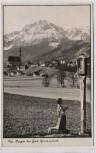 AK Foto Anger bei Bad Reichenhall Ortsansicht Kind betend 1940