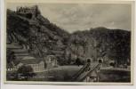 AK Altenahr Burgruine Are mit den 3 Tunnels 1940