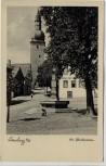 AK Foto Arnsberg in Westfalen Am Glockenturm mit Hotel zur Krim 1940
