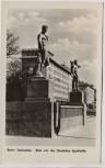 AK Foto Berlin Stalinallee Blick von der Deutschen Sporthalle 1953