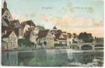 AK Besigheim Partie an der Enz 1906
