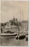 AK Foto Stralsund Im Hafen Schiffe 1961