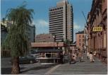 AK Foto Offenbach am Main Rathaus mit Post Straßenansicht 1965