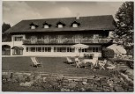 AK Foto Berghotel Jägerhof über Isny im Allgäu 1964