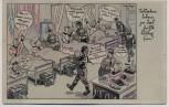 Künstler-AK Ferdinand Barlog Soldatenleben, ja das heißt lustig sein 1941