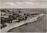 AK Foto Langholz an der Ostsee Luftbild b. Waabs 1960
