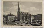 AK Würzburg Marienkäppele und Marktplatz 1940