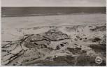 AK Foto Nordseebad Norderney Strandgaststätte Oase Luftbild 1960
