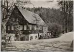 AK Foto Waldgaststätte Höllmühle im Muldental b. Penig 1977