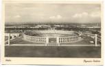 AK Berlin Olympia-Stadion mit Menschen 1940