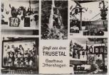 AK Foto Mehrbild Gruß aus dem Trusetal Gasthaus Ittershagen 1960