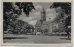 AK Jena Markt mit Stadtkirche und neuem Germanenhaus Feldpost 1939