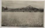 VERKAUFT !!!   AK Foto Jena Eisdecke auf der Saale Paradiesbrücke und Jenzig 1938