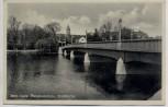 AK Foto Jena Saale Paradiesbrücke Stadtkirche 1939