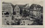 AK Jena Markt Feuchte Ecke mit Fahnen Feldpost 1939