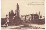 AK Wiesbaden Lutherkirche Gutenbergschule Dreifaltigkeitskirche 1920