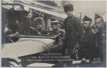 AK Foto Original Aufnahme vom feindlichen Kriegsschauplatz Deutsche Gefangene werden im Automobil in Gent eingebracht Belgien 1. WK Verlag Gustav Liersch 1915