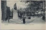 AK Hannover General von Alten Denkmal mit Menschen 1902 RAR