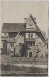 AK Foto Bensheim Haus Prof. Metzendorf 1920 RAR
