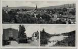 AK Mehrbild Eisenberg (Pfalz) Vereinshaus See Ortsansicht 1950