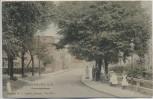 AK Lauenburg an der Elbe Hamburgerstraße mit Menschen 1905 RAR