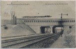 AK Eberswalde Hohenzollern-Kanal Berlin-Stettin Bahnunterführung 1921