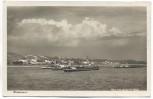 VERKAUFT !!!   AK Gruß aus der Weinbrennerei Asbach Uralt Rüdesheim am Rhein viele Schiffe 1930