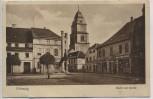 AK Zielenzig Sulęcin Markt mit Kirche Neumark Ostbrandenburg Polen 1927