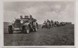 AK Foto Unser Heer Kübelwagen Kolonne Soldaten mit Gewehr und Stahlhelm 1936