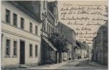 AK Trebbin Kommandanten-Strasse 1909 RAR