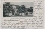 AK Gruss aus Markgrafpieske Gasthof Aug. Schneider mit Dorfstrasse b. Spreenhagen 1904 RAR