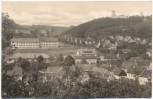 AK Eckartsberga mit Zentralschule und Eckartsburg Kr. Naumburg mit Schreibfehler 1960