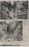AK Platten Horní Blatná Gruss von der Wolfs-u. Eispringe im Erzgebirge b. Karlsbad Karlovy Vary Böhmen Tschechien 1908 RAR