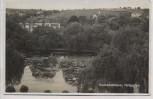 AK Foto Veitshöchheim Hofgarten mit Häusern 1930