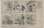 Künstler-AK Streckenbaukolonne 5 ihr feldgraues A B C Humor Comic 1.WK 1920